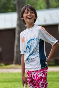 happy smiling camper kingswood new hampshire summer camp