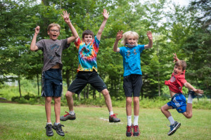 jumping happy campers boys sleepaway camp new england