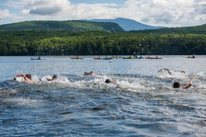 lake swim water boys summer overnight camp new england
