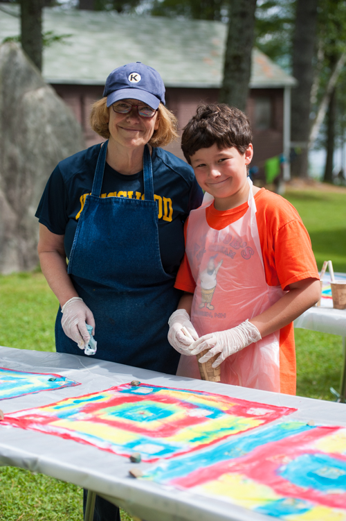 art creative boys summer camp new hampshire